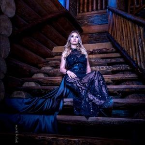 Dresses & Skirts - Beautiful black lace sequin gown with train